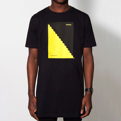 Acid Techno - Longline - Black