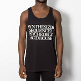 Synthesizer Acid House Mens Vest