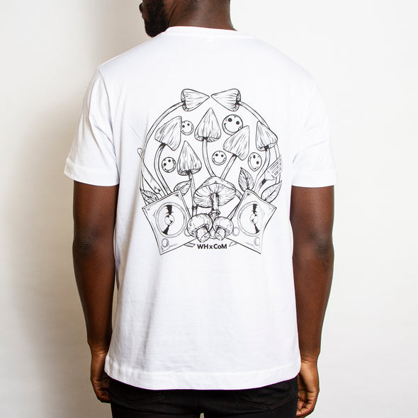 Carters x WH - Tshirt - White - Wasted Heroes