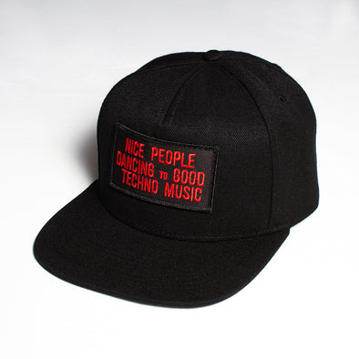 Peoples Techno - Snapback - Black - Wasted Heroes