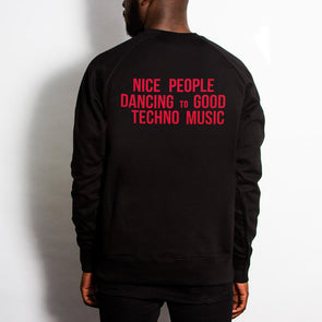 Peoples Techno - Sweatshirt - Black - Wasted Heroes