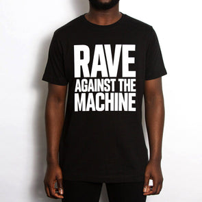 Rave Against - Tshirt - Black - Wasted Heroes