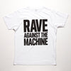 Rave Against - Tshirt - White - Wasted Heroes