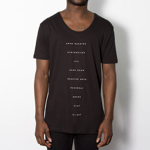 The Recipe - Scoop Neck - Black