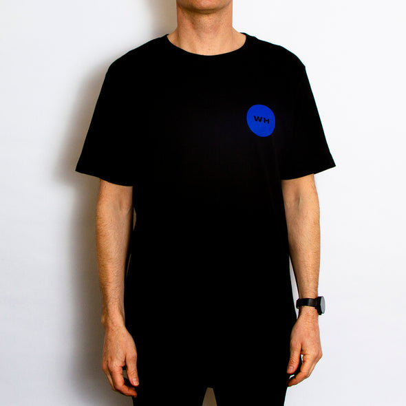 Shapes Back Print - Tshirt - Black - Wasted Heroes