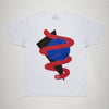 Shapes Front Print - Tshirt - White - Wasted Heroes