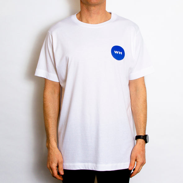 Shapes Back Print - Tshirt - White - Wasted Heroes