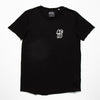 Acid Sport Crest - Skater T-shirt - Black - Wasted Heroes