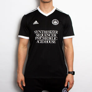 Wasted Heroes FC 001 - Football Jersey - Black