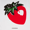 Strawberry Back Print - Tshirt - White - Wasted Heroes