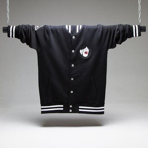 Droplet Face Varsity Jacket