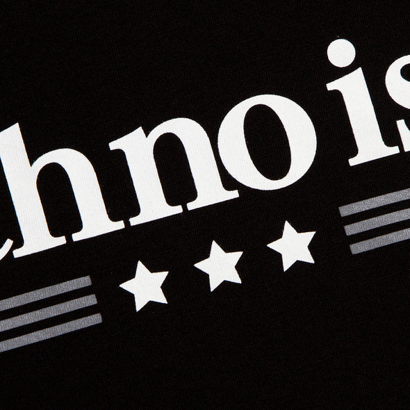 Techno Is It - Tshirt - Black - Wasted Heroes