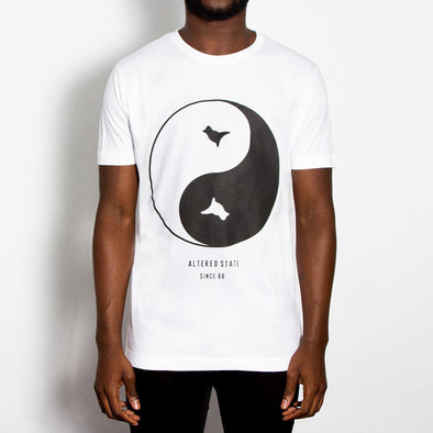 Dove Front Print T-shirt - White