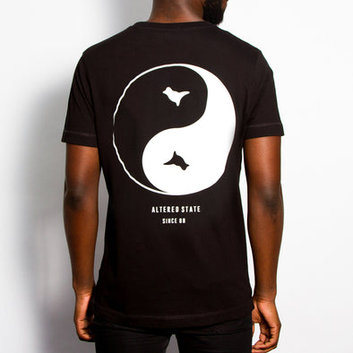 Dove Back Print - Tshirt - Black - Wasted Heroes