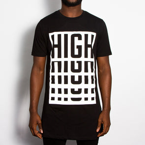High - Longline - Black - Wasted Heroes