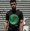 Sequence Sphere Front Print - Tshirt - Black - Wasted Heroes