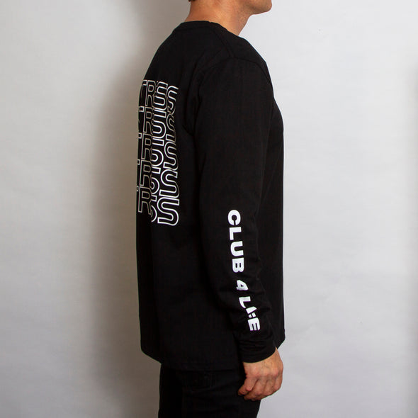 Stress - Long Sleeve - Black - Wasted Heroes