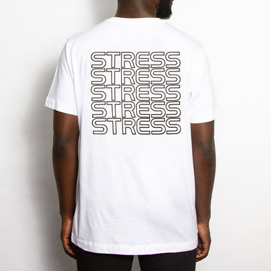 Stress - Tshirt - White - Wasted Heroes