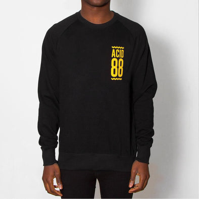 Acid 88 Crest - Sweatshirt - Black