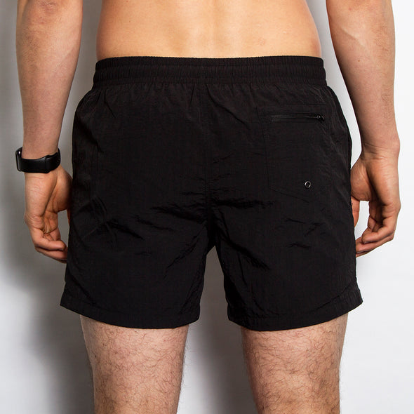 Disco Psychedelia - Swim Shorts - Black - Wasted Heroes