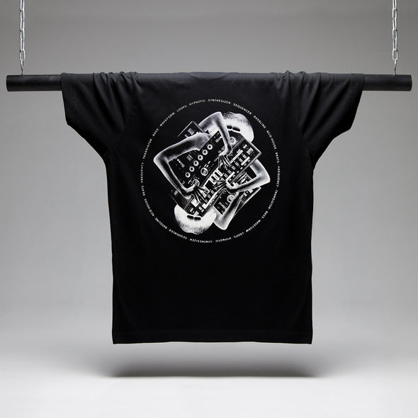 Synth Sex - Tshirt - Black - Wasted Heroes