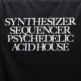 Synthesizer Acid House T-shirt - Black