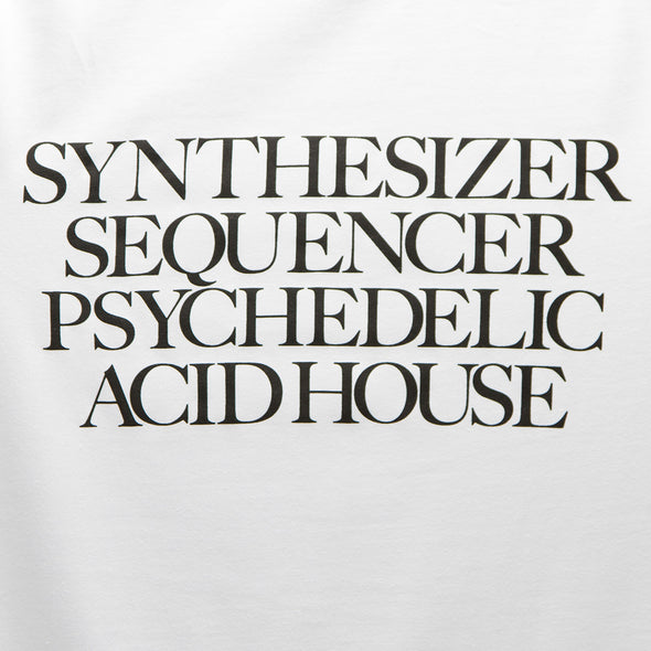 Synthesizer Acid House - Tshirt - White - Wasted Heroes