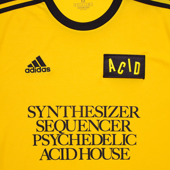 Wasted Heroes FC 005 - Football Jersey - Yellow - Wasted Heroes