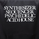 Synthesizer Acid House Pullover Hooded Sweatshirt