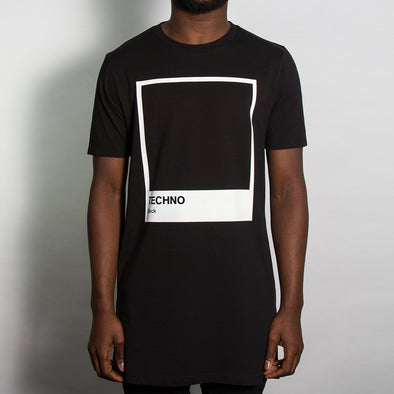 Techno Black - Longline - Black