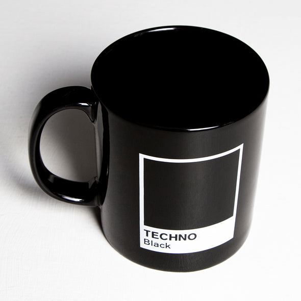 Techno Black - Mug - Wasted Heroes