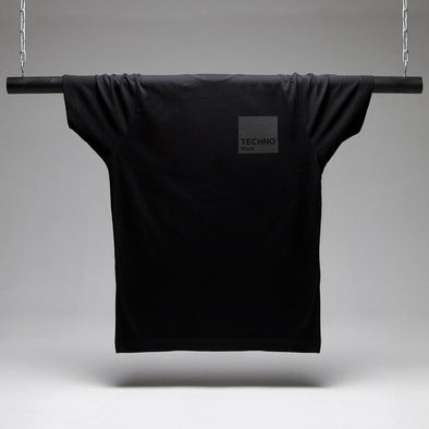 Box Techno Black On Black T-shirt