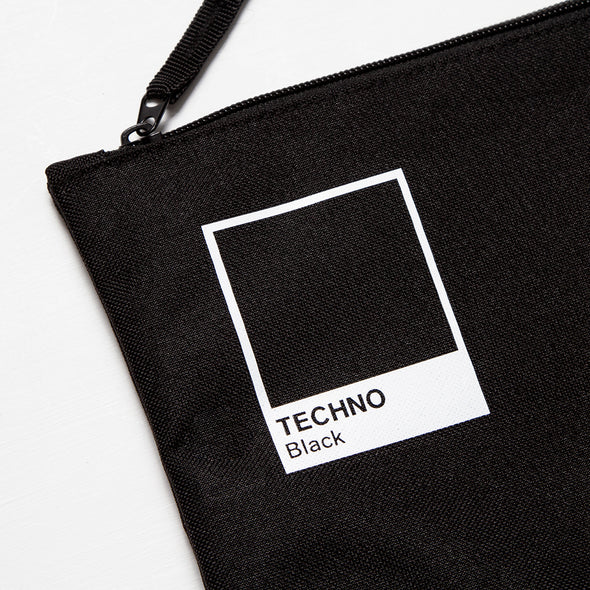 Techno Black - Pouch - Black - Wasted Heroes