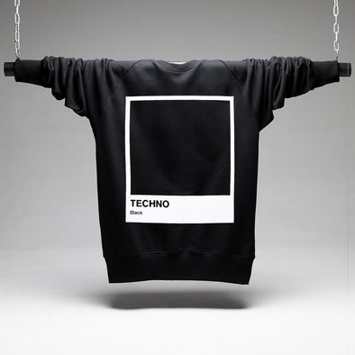 Techno Black Sweatshirt