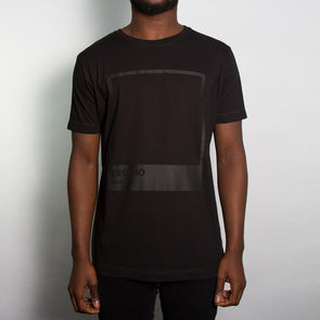 Techno Blk On Blk - Tshirt - Black