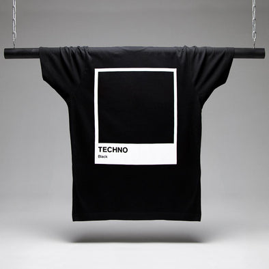 Techno Black T-shirt