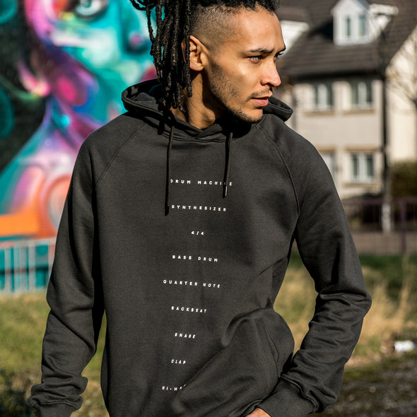 Techno Recipe - Unisex Hoodie - Ash - Wasted Heroes