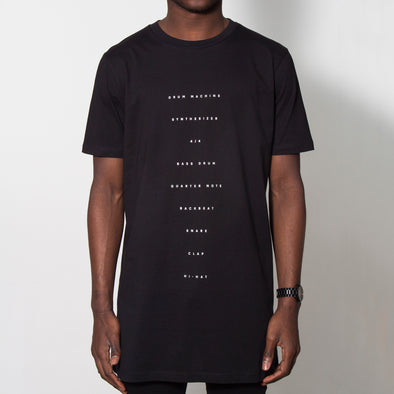The Recipe - Longline - Black