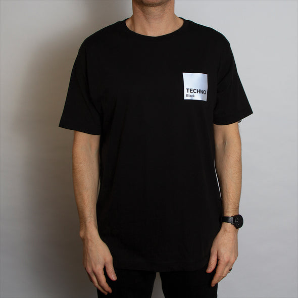Reflective Box Techno Black - Tshirt - Black - Wasted Heroes