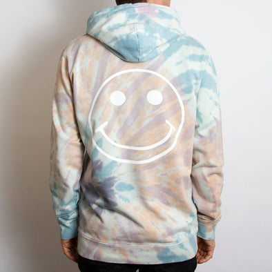 Smiley - Unisex Hoodie - TieDye - Wasted Heroes