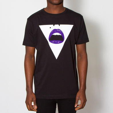 Triangle Face - Tshirt - Black - Wasted Heroes