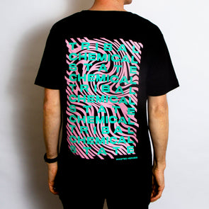 Tribal State Back Print - Tshirt - Black - Wasted Heroes