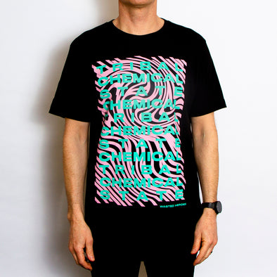 Tribal State Front Print - Tshirt - Black - Wasted Heroes