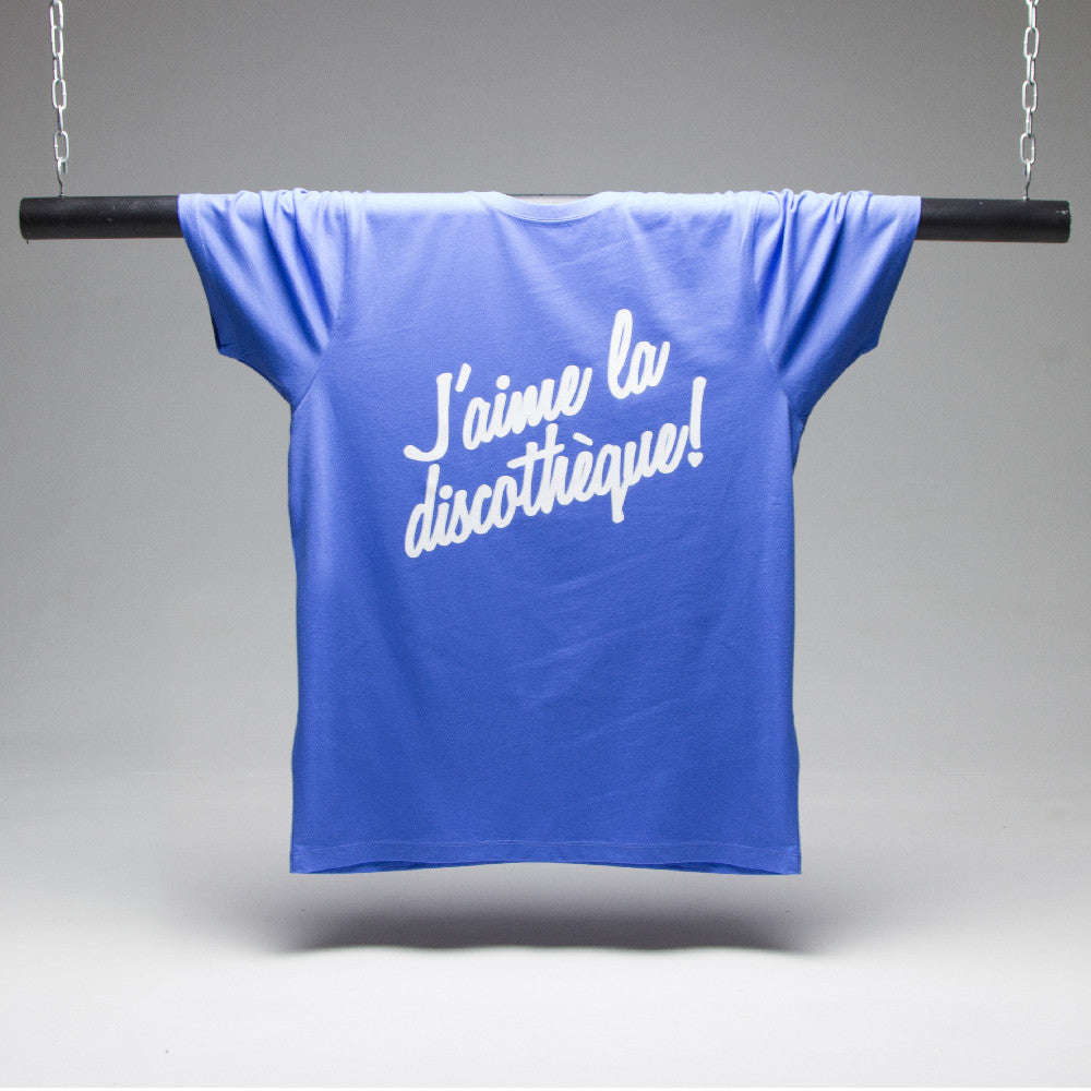Discotheque T-shirt - French Blue