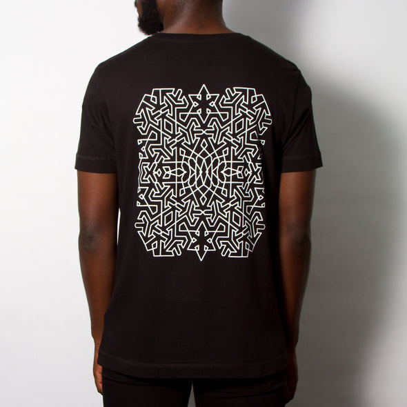 Endless Back Print - Tshirt - Black