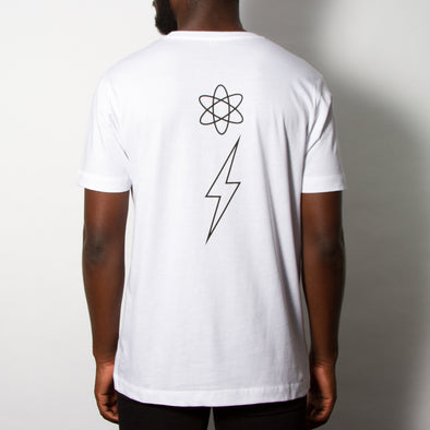 Energy Flash - Tshirt - White - Wasted Heroes