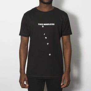 Mindless Disco - Tshirt - Black - Wasted Heroes