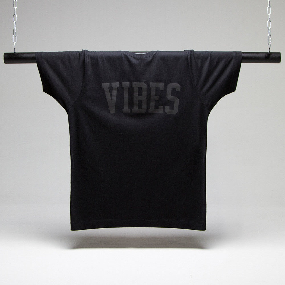 Vibes Black On Black T-shirt