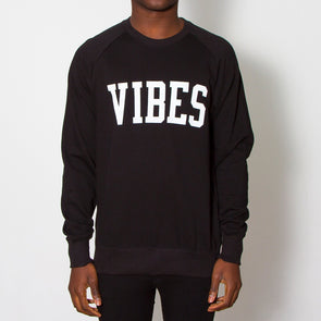Vibes - Sweatshirt - Black - Wasted Heroes