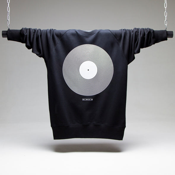 Vinyl - Sweatshirt - Black - Wasted Heroes